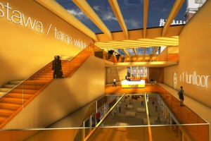 Trzy pracownie stworzyły koncepcję Galerii Arsenał w Poznaniu