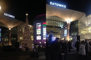 Galeria Katowicka ma największą choinkę