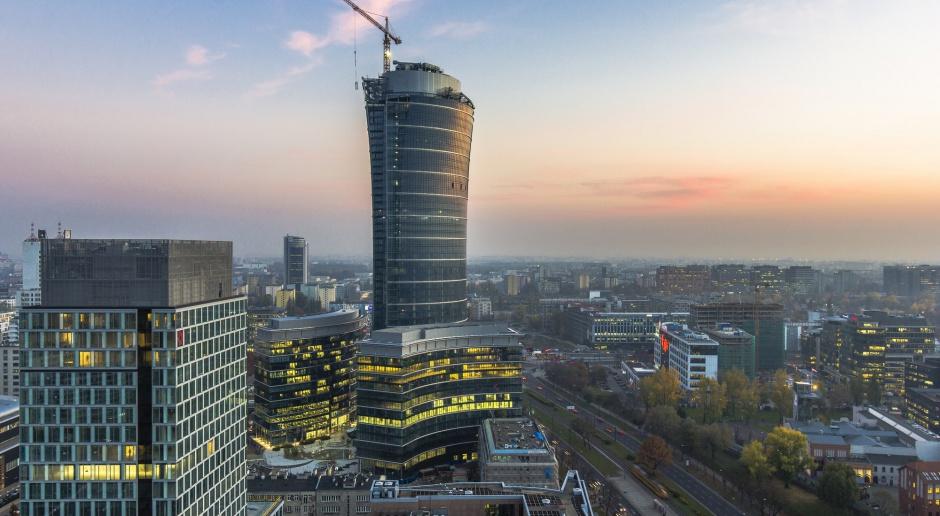Drugi budynek Warsaw Spire gotowy