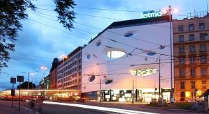 Futurystyczna bryła centrum w Brnie