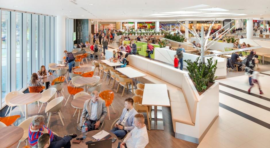 Food court zaprojektowany z myślą o klientach