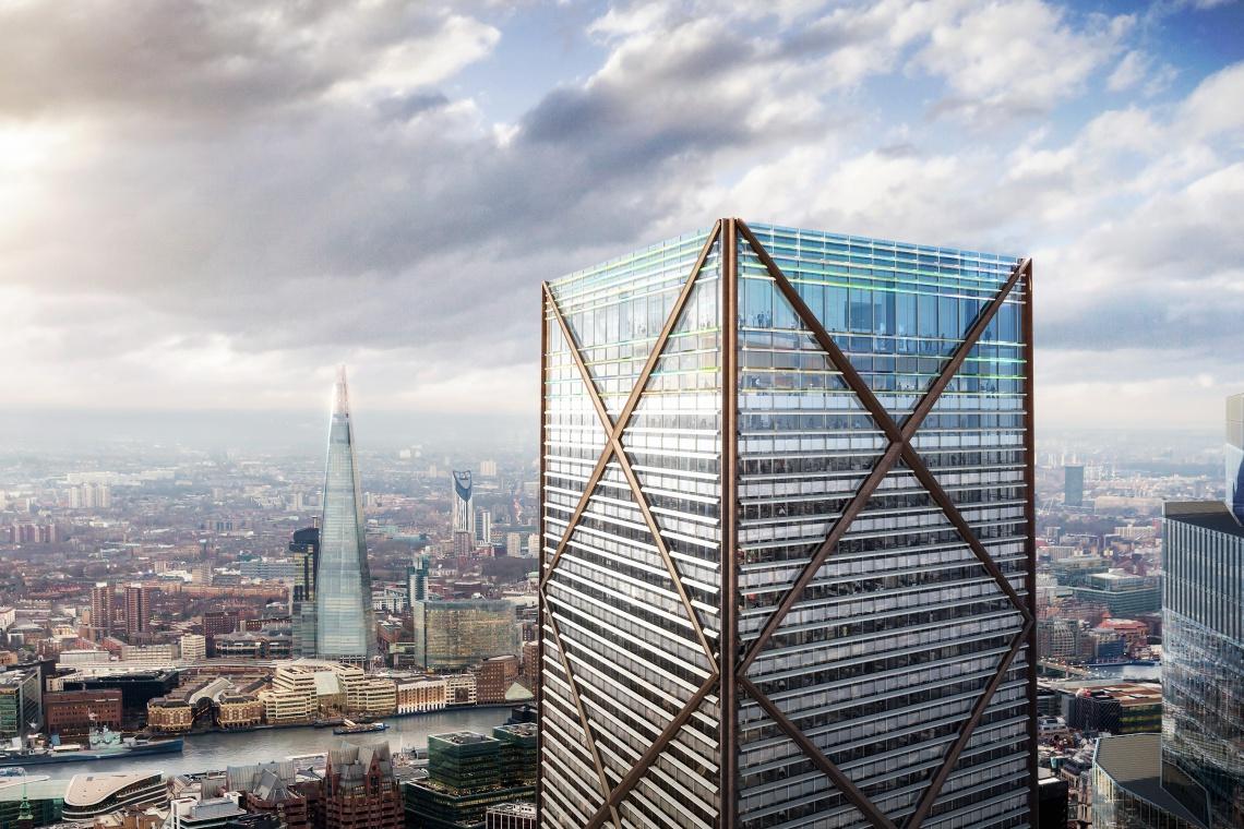 Projekt 1 Undershaft - nowy, najwyższy budynek w Londynie