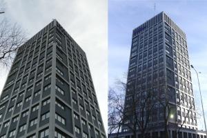 Łódzki World Trade Center zyskał nowy wygląd