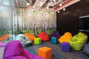 Biuro z nutą ekologicznych trendów