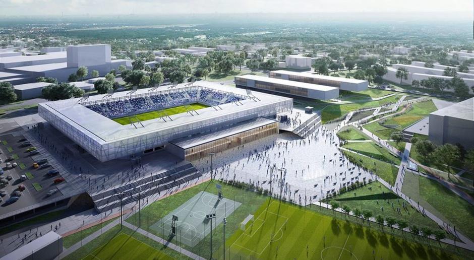 Jest koncepcja na stadion w Olsztynie