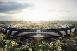 Zobacz powstający Apple Campus, projektu Foster + Partners