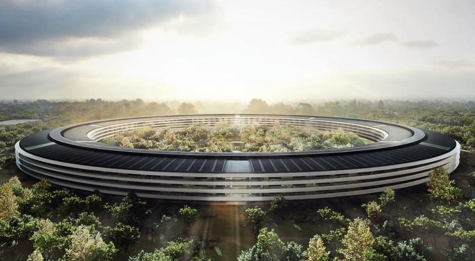 Zobacz powstający Apple Campus