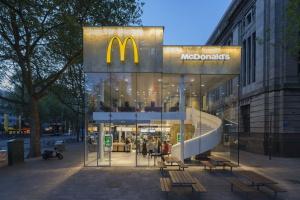 McDonald's w Rotterdamie doceniony za design