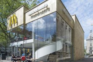 Zjawiskowy McDonald's w centrum Rotterdamu