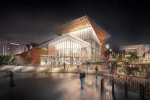 Forum Gdańsk - prace potrwają jeszcze rok