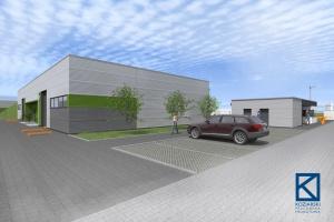 Centrum Logistyczne Eko Park Będzin od Koziarski