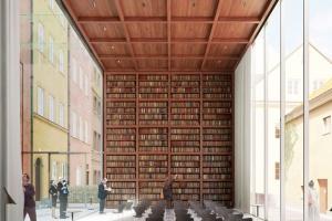 Jest umowa na wykonanie projektu renowacji Muzeum Literatury