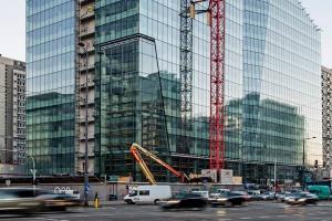 Biurowiec Q22 w Warszawie - zobacz najnowsze zdjęcia