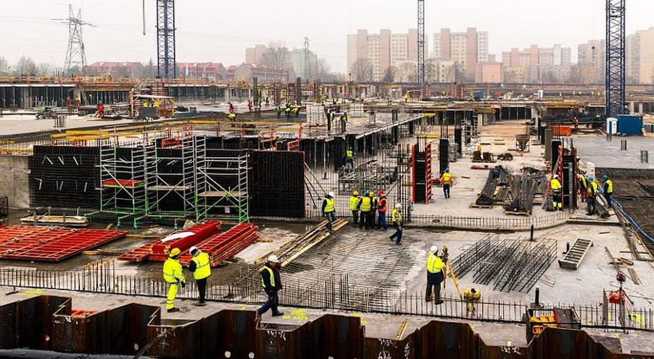 Co słychać na budowie Galerii Północnej w Warszawie?