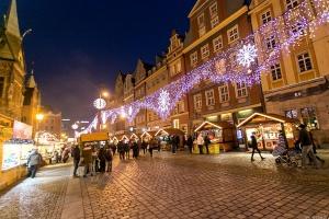 Wrocławski jarmark świąteczny był tym najpiękniejszym