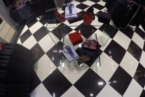 Elegancki wystrój salonu PAWO w Galerii Katowickiej