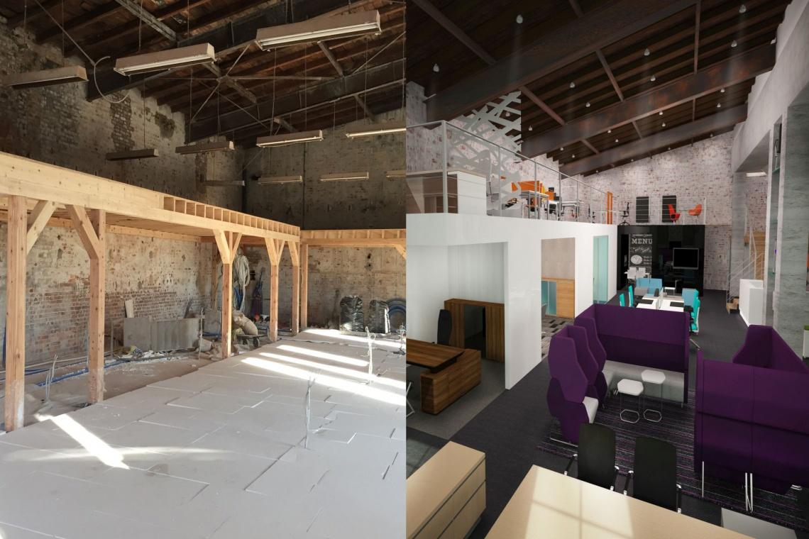 Projekt showroomu Cobu Design od Małeccy Biuro Projektowe