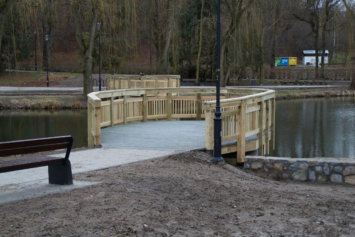 Park Oruński wiosną zachwyci, dzięki zimowej rewitalizacji