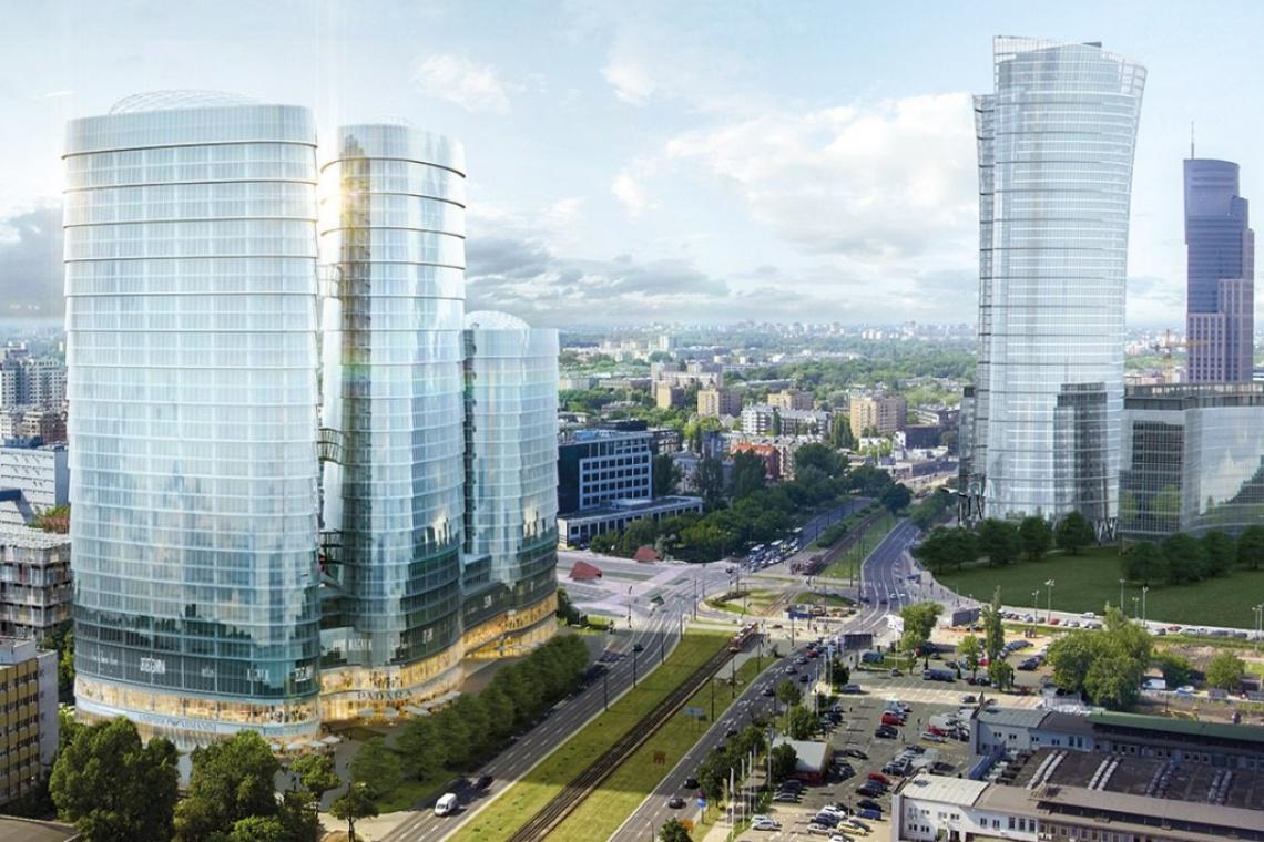 Sienna Towers i Wronia 31 - nowe biurowce na Woli