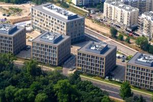 Biurowiec projektu Litoborski-Marciniak oficjalnie zielony