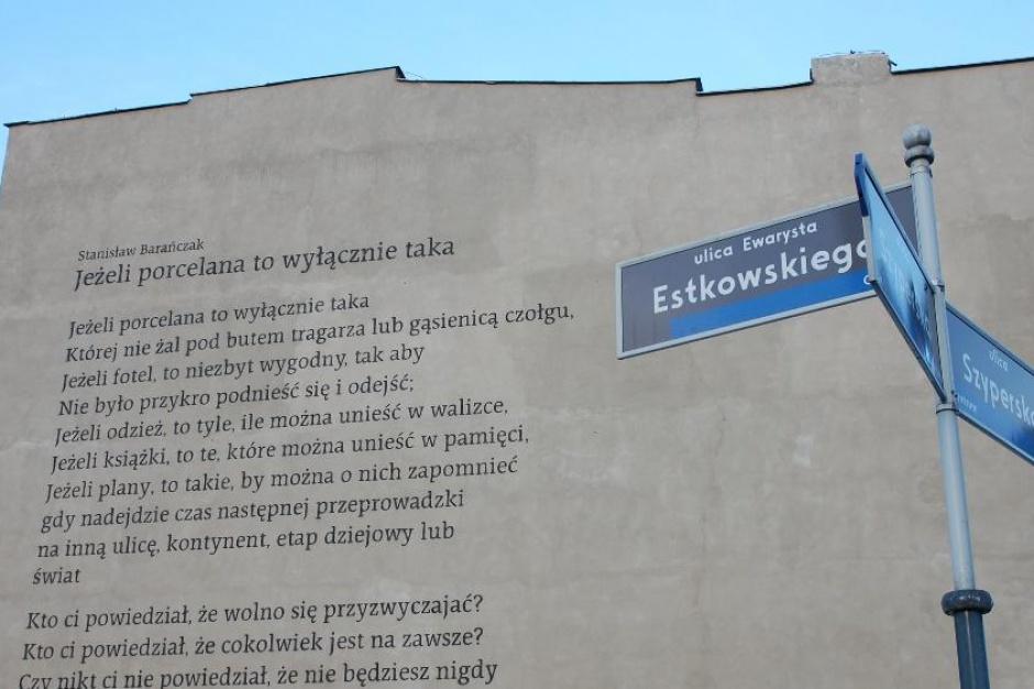 Nowy Mural W Poznaniu Architektura