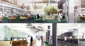 Konior Studio i SOKKA odmienią wnętrza Biblioteki Narodowej