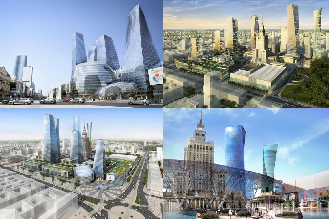 Francuzi i Niemcy projektują nowe centrum Warszawy za 8 mln zł