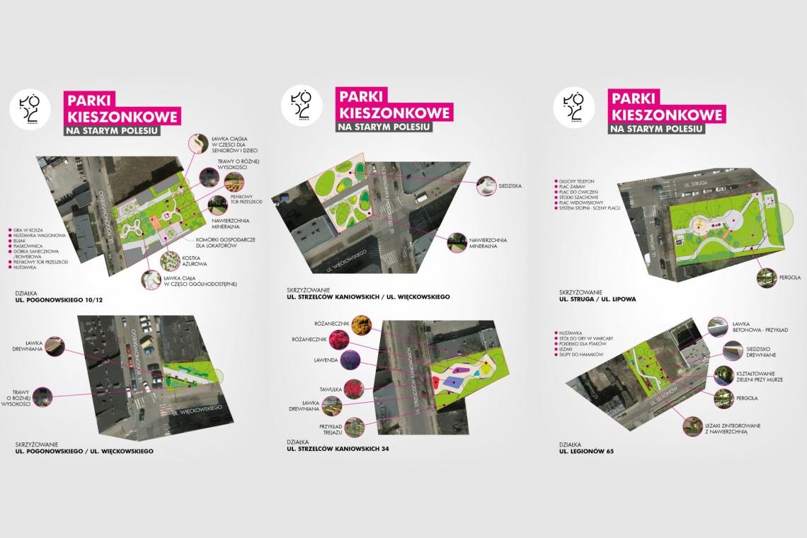 W centrum Łodzi powstaną parki kieszonkowe