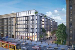 Nowogrodzka Square projektu HRA Architekci na starcie