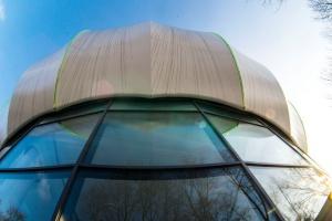 Łódzki BioNanoPark postawił na kosmiczną architekturę