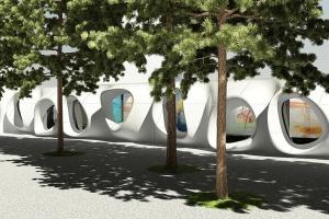 Art Walk, projektu Massive Design, powstaje na Placu Europejskim