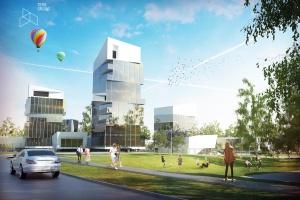 W Kielcach wybudują najwyższy wieżowiec