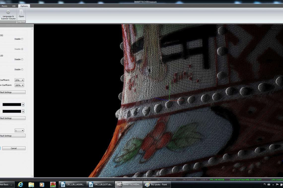 Skaner 3D o rozdzielczości 24 megapikseli