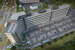 Biurowiec centrali Kaufland Polska gotowy