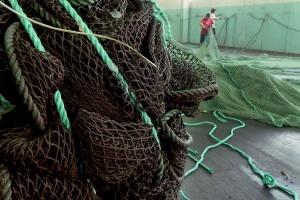 Ekologiczne wykładziny - z sieci rybackich i plastikowych butelek