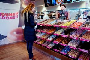 Dunkin' Donuts już w Polsce - na warszawskim Wilanowie