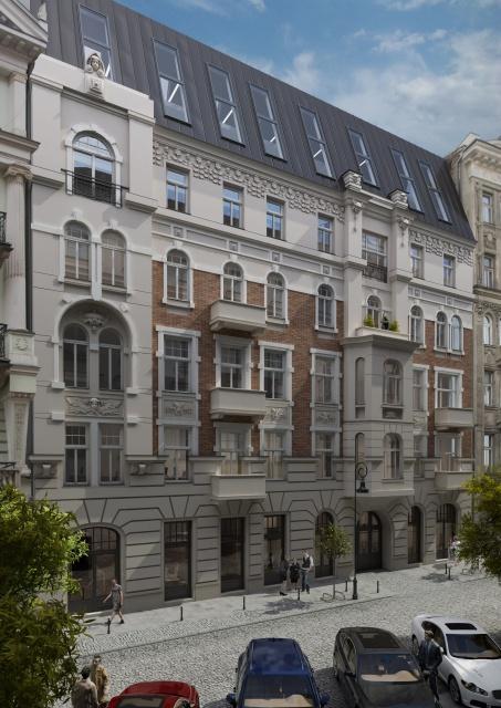 Poznańska 37 - detale architektoniczne kamienicy odzyskują blask