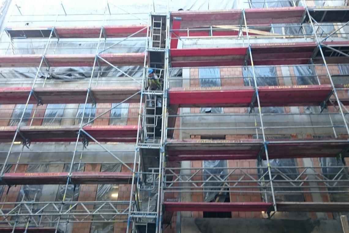 Najnowsze wieści z budowy biurowca Staromiejska 13a w Katowicach