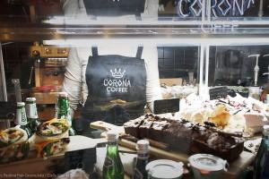 Klimatyczna Corona Coffee z identyfikacją od Cuda Wianki Studio