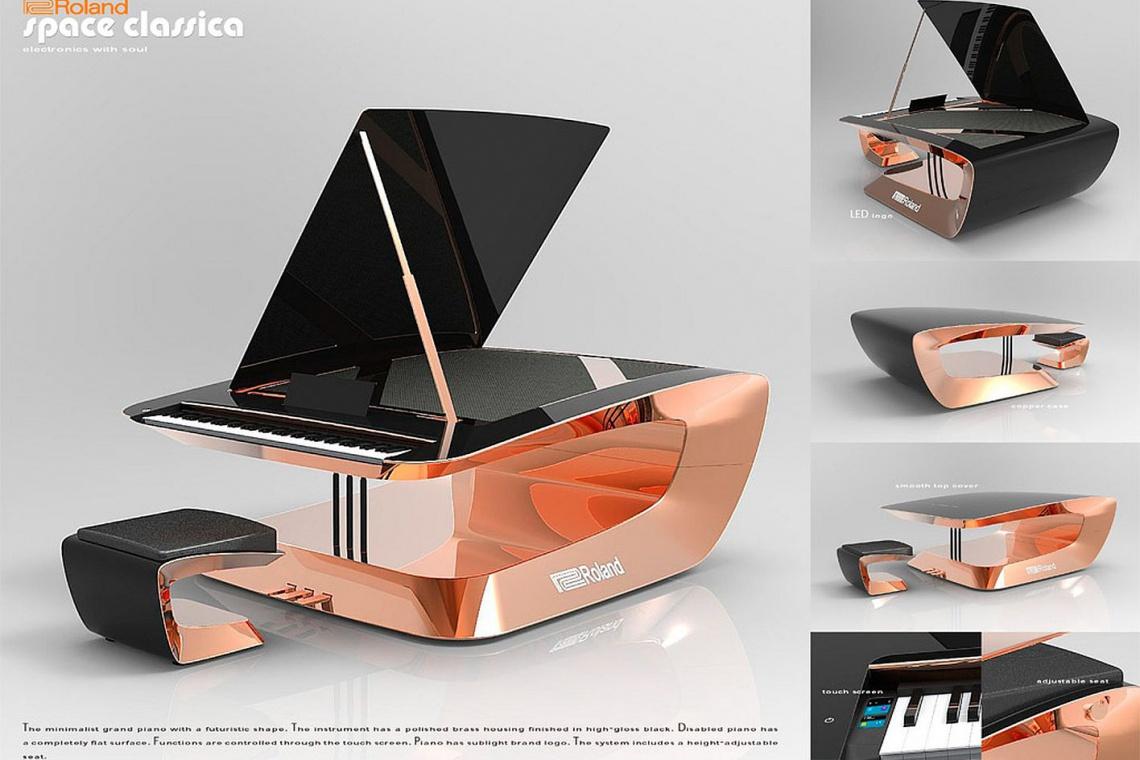 Polak wyróżniony w konkursie na nowoczesny fortepian