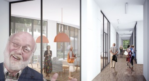 Trzy funkcje i trzy pokolenia w jedynym budynku od Major Architekci