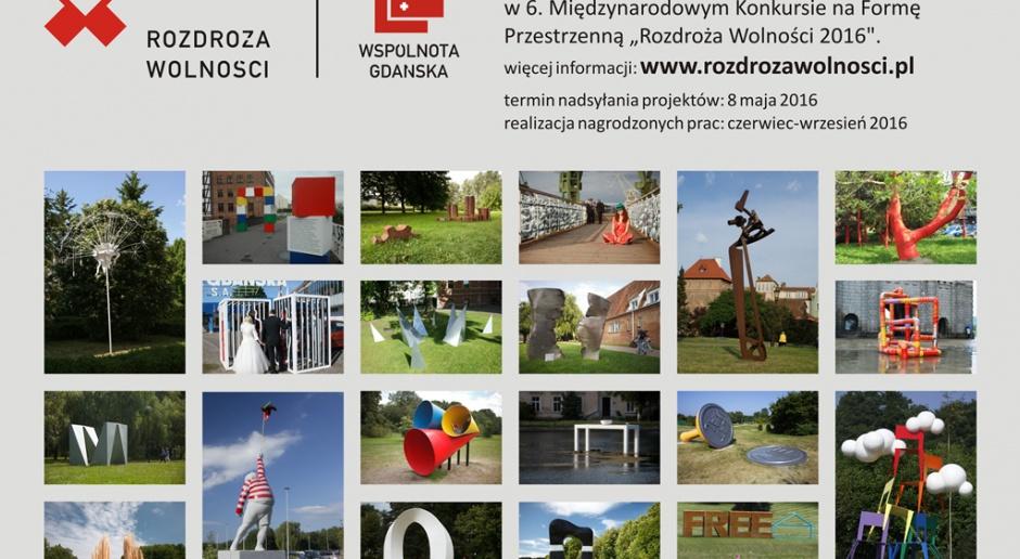 Ruszył konkurs Rozdroża Wolności 2016 dla projektantów i rzeźbiarzy