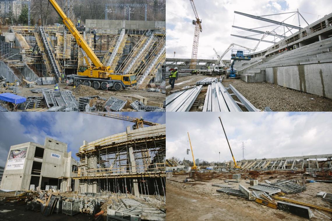 Nowy stadion Widzewa wkrótce z dachem