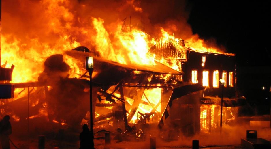 Spłonął jeden z najpiękniejszych kościołów drewnianych