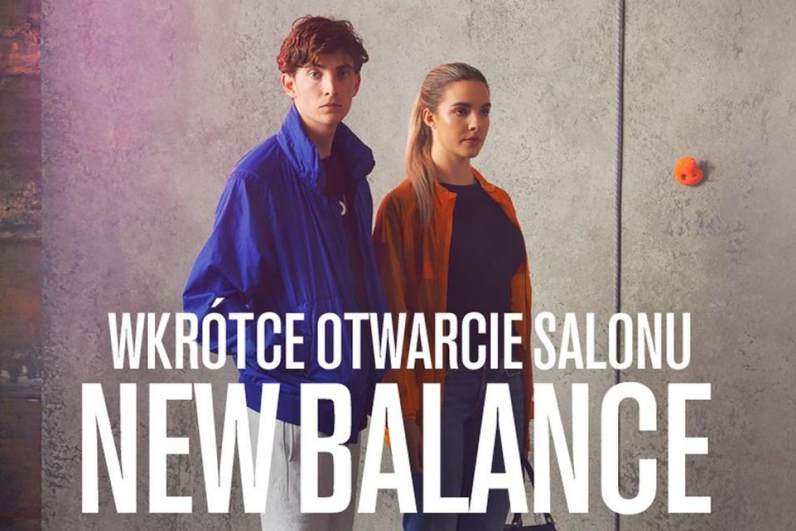 New Balance otwiera salon w Alfa Centrum