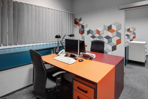 Biuro dla firmy Mia musiało być designerskie i funkcjonalne