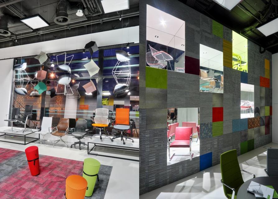 Showroom Aqina w warszawskim Focusie. To projekt PIK Studio