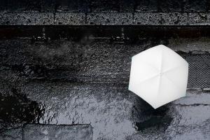 Parasol społecznościowy? Tak, oto designerski parasol magnetyczny