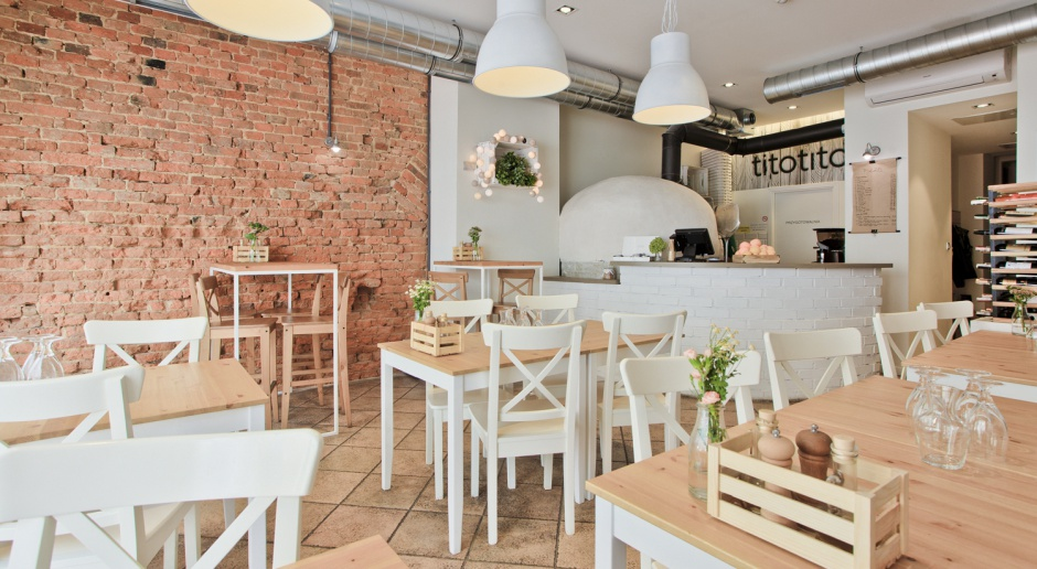 Włoski klimat w Gliwicach. Projekt pizzerii od Superpozycja Architekci