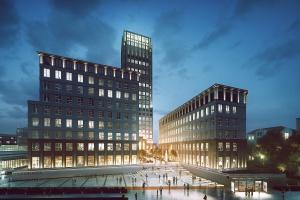 GD&K pokazuje nowe wizualizacje Szkieletora w Krakowie